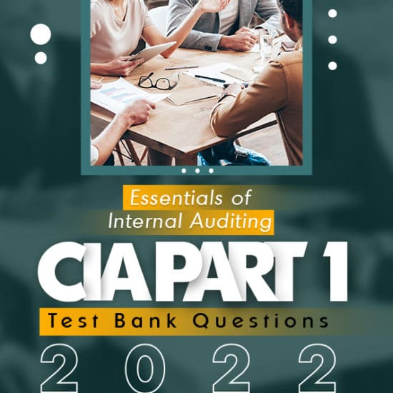 CIA Part 1 Test Bank Questions 2022