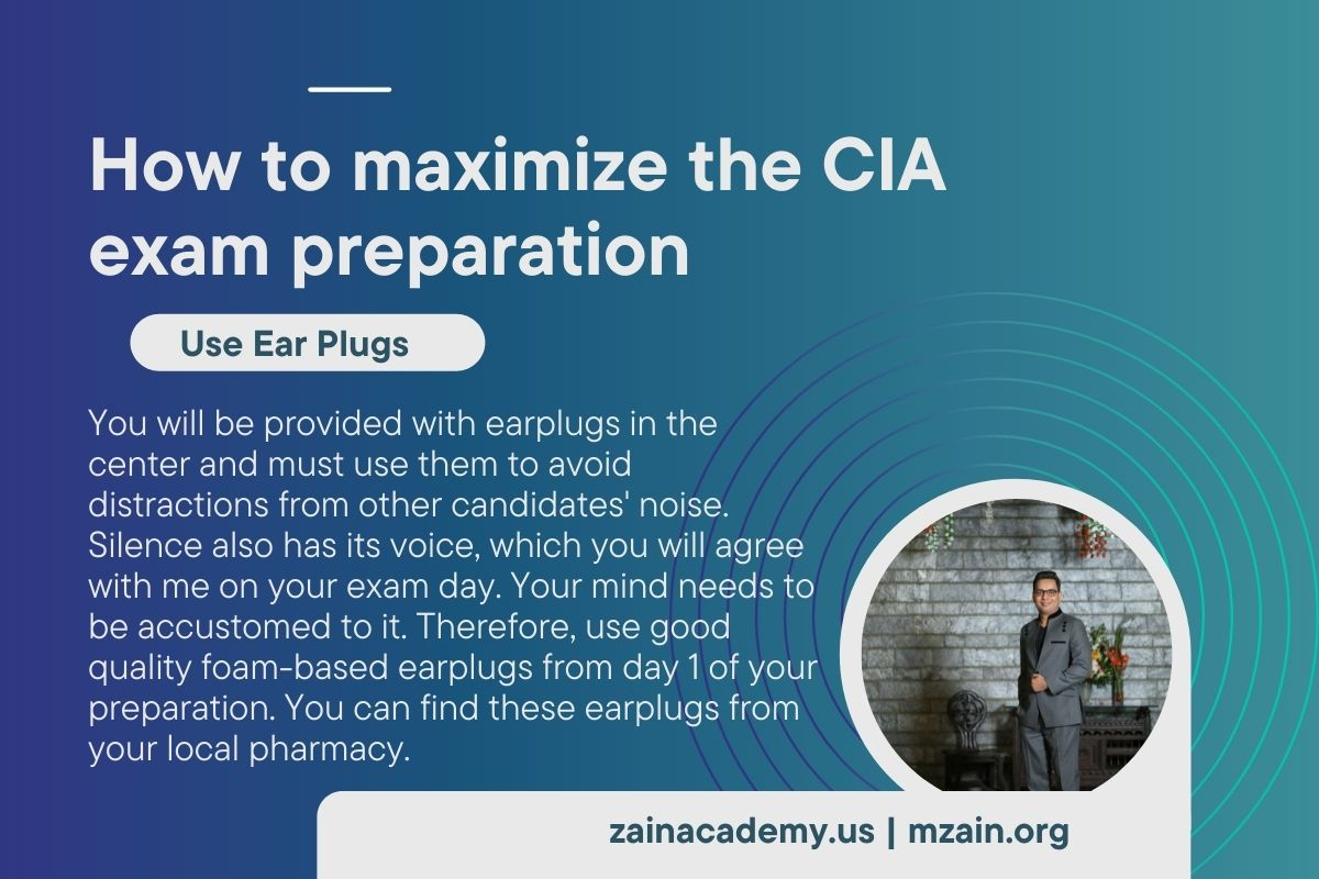 How to maximize the CIA exam preparation