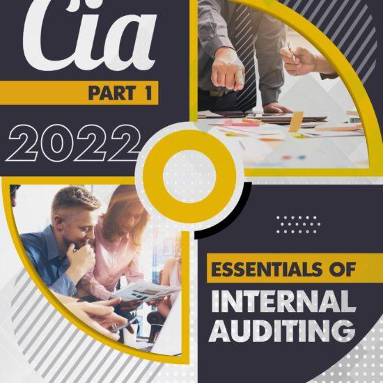 CIA Part 1 Essentials of Internal Auditing 2022